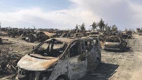 Arabsko-kurdské demokratické síly (SDF) podporované USA oznámily porážku Islámského státu v Baghúzu, posledním území, které ovládal chálífát ISIS