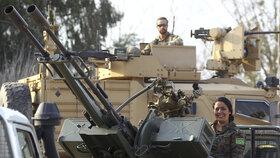 Arabsko-kurdské demokratické síly (SDF) podporované USA oznámily porážku Islámského státu v Baghúzu, posledním území, které ovládal chalífát ISIS.