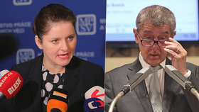 Jana Maláčová (ČSSD) a Andrej Babiš (ANO) se střetli v otázce rodičovského příspěvku