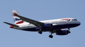 Letadlo British Airways se cestou na Tenerife zaplnilo výpary a kouřem