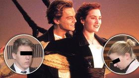 Milostná scéna z Titaniku a pak pokus o vraždu?
