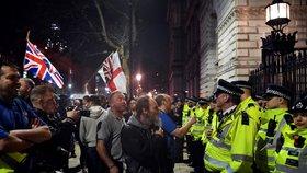 Demonstrace v Londýně po třetím selhání dohody o brexitu (29. 3. 2019)