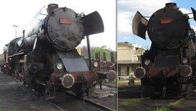 Na Hodonínsku vykolejila historická lokomotiva.