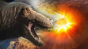 Den, který zabil dinosaury: Vědci rekonstruovali průběh dopadu meteoritu.