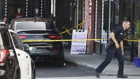 Obchod, před nímž ke střelbě došlo.