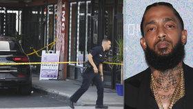 Nadějného rappera v neděli zastřelili v Los Angeles