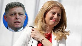 Robert Fico se pustil do nově zvolené slovenské prezidentky Čaputové.