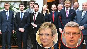 Babiš se v Kramářově vile sešel s vybranými vysokoškoláky. Na setkání nechyběli ministři ani Babišova pravá ruka pro vědu a výzkum Havlíček. Nahradí Novákovou?