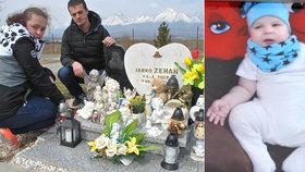 Jareček (†1) zemřel rok po komplikovaném porodu.