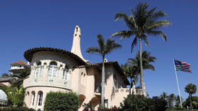 Oblíbený floridský resort Trumpových Mar-a-Lago.