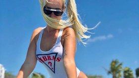 Simona v kokainovém ráji: Terezina kamarádka zavítala na luxusní ostrov v Karibiku.