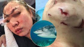 Hororový konec lekce potápění: Nanu žralok kousl do hlavy!