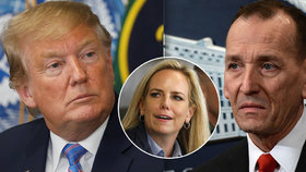 Trump vyměnil šéfa ochranky i ministryni vnitřní bezpečnosti.