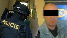 Česká policie zadržela mezinárodně hledaného vraha