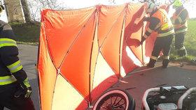 Pražský hokej pláče: Tomáš (†27) vjel i s motorkou u lomu Amerika pod kola teréňáku