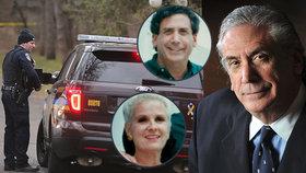 Bohatý byznysmen zastřelil svou nemocnou manželku. Poté spáchal sebevraždu.