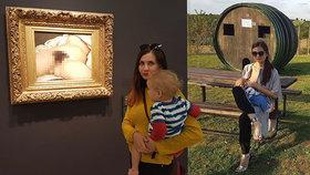 Matka Lucie Kmentová popsala, jaké strasti jí přineslo kojení na veřejnosti