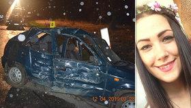 Lenka zemřela při dopravní nehodě