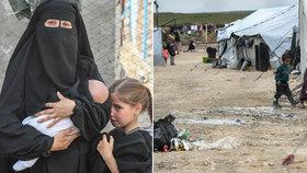 V severosyrském uprchlickém táboře Hawl jsou desetitisíce lidí včetně dcer australského džihádisty, (ilustrační foto).