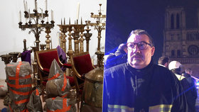 Hrdina z Bataclanu zachránil v pondělí z plamenů cenné relikvie.