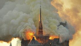 Požár katedrály Notre-Dame sledoval celý svět.