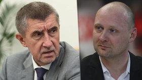 """Podle premiéra Andreje Babiše (ANO) je Lukáš Wagenknecht (za Piráty) """"psychopat z mafie""""."""