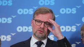 Předseda strany ODS Petr Fiala