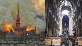 Zkáza Notre-Dame: Vápencová stavba se po požáru rozpouští, stavební kameny praskají.