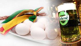 Na Zelený pátek zelené pivo? A zlevněná vejce jsou před Velikonocemi nejdražší za 7 let.