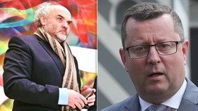 Ministr kultury Staněk odvolal šéfa Národní galerie Fajta