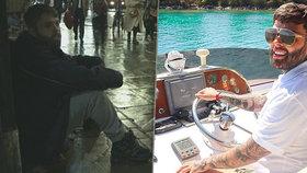 Milionář Kieren se stal na 3 dny bezdomovcem.