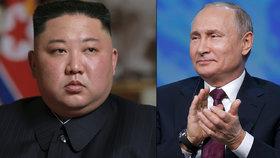 Severokorejský vůdce Kim Čong-un a ruský prezident Vladimir Putin se ještě v dubnu sejdou ve Vladivostoku  (18. 04. 2019).