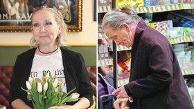 Bára Basiková po rozvodu rezignovala na vzhled? Místo dámy důchodkyně!