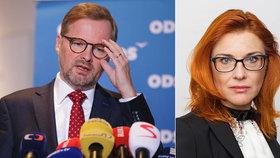 Majerová Zahradníková (ODS) ve straně končí, oznámila to SMS zprávou.