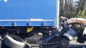 Na dálnici D5 došlo k několika nehodám