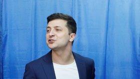 Nově zvolený ukrajinský prezident Volodomyr Zelenskyj