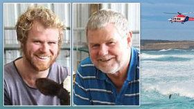 Otec a syn utonuli při záchraně lidského života.