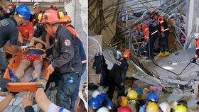 Série dvou zemětřesení si na Filipínách vyžádala 11 obětí a desítky pohřešovaných.