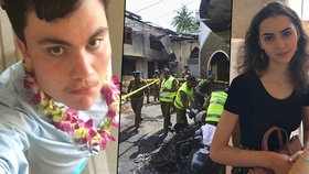 Sourozenci unikli bombovému útoku, zemřeli při druhé explozi.