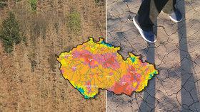 40 dní nepršelo: Česká (s)poušť!