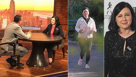 Eurokomisařka Věra Jourová v New Yorku: Rozhovor pro CNN, běh v Central parku a galavečer Time