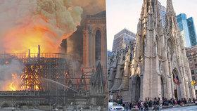 Katedrála sv. Patricka se ocitla v ohrožení.