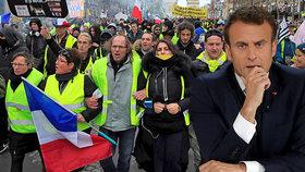 Macron i přes rozčarování Francouzů nechce měnit kurz.