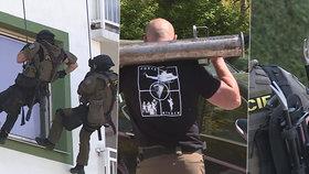 Desítky policistů na pardubickém sídlišti: Zásahovka tu zachraňovala dívku (17)