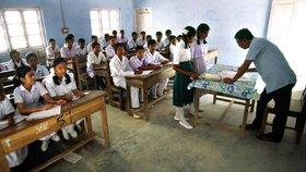 V Indii spáchalo 19 studentů sebevraždu, protože selhali u maturit (ilustrační foto)