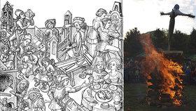 Pálení čarodějnic má dlouhou tradici. Dříve ale zapalování hranic sloužilo spíše k ochraně než k bujarého veselí