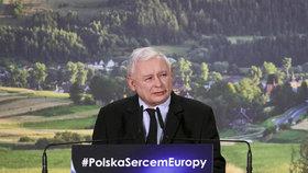 Předseda polské strany Právo a spravedlnost Jarosław Kaczyński