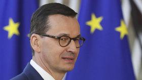 Polský předseda vlády Mateusz Morawiecki
