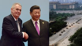 Prezidenti Miloš Zeman a Si Ťin-pching a krvavě potlačený protest na náměstí Nebeského klidu