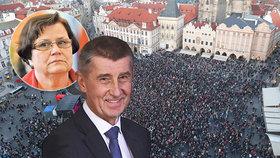 V 94 městech napříč celou republikou se v pondělí chystají demonstrace proti jmenování Marie Benešové ministryní spravedlnosti.